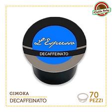 70 Capsules capsules de café Gimoka Compatibles LAVAZZA EN SORTE MIO Espresso