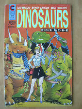 DINOSAURS FOR HIRE - USA ETERNITY COMIC - No 3 1988