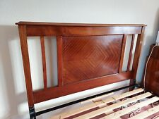 More details for beautiful antique bed frame - double