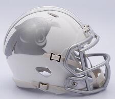 NFL American Football CAROLINA PANTHERS - ICE ALTERNATE Riddell MINI HELMET