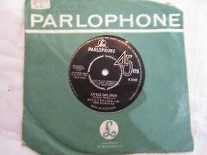 BILLY J KRAMER LITTLE CHILDREN / THEY REMIND ME OF YOU parlophone 5105 EX