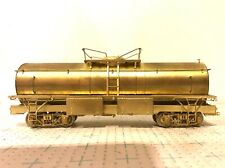 OVERLAND MODELS HON3 SCALE #1356 BRASS D&RGW AUXILIARY TENDER UNPAINTED NO BOX