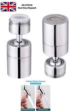 SAMODRA Kitchen Sink Faucet Aerator Dual Brass Swivel Ball 80° Big Angle 2 adjus