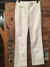 Per Una Stretch Cotton Trousers Size 12 Long