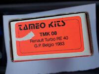TAMEO 1/43 Unbuilt TMK08 Renault RE40 Turbo 1983 Alain Prost No Senna Hamilton