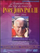 Remembering The Life and Times of Pope John Paul II DVD Documentary