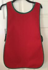 Wholesale Job Lot 10 New Tabards Aprons Red Catering Florist Work Clothes Green