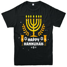 Hanukkah Festival T-Shirt, Religious Festival Adults & Kids Top