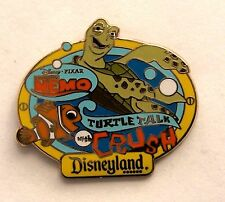 Disney Pin AAA Vacations Turtle Talk with Crush