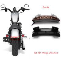 LED Stop Brake License Plate Tail Light Fit For Harley-Davidson Sportster 1200