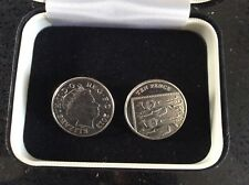 double sided ten pence coins(heads & tails) first class.(MADE FROM REAL COINS)
