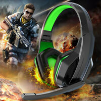3.5mm Gaming Headset Headphone With Microphone For PS4 Switch Laptop Gamer PSP