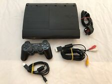 Sony PlayStation 3 Super Slim Charcoal Black Console (CECH-4003A) Please Read
