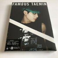 TAEMIN FAMOUS (First Limited Edition A) digipack CD+PHOTOBOOK 60P Free Shipping