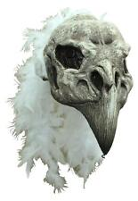 SKULL VULTURE LATEX MASK OVERHEAD DELUXE BIRD BLACK DEATH FILM SCARY HALLOWEEN