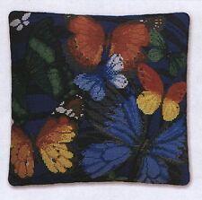 Butterfly cross stitch Coussin Avant Kit-Riolis