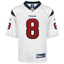 Reebok NFL Equipment Houston Texans Matt Schaub #8 Football Jersey (XL) White