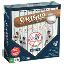 New York Yankees Scrabble Game Yankees Edition Sealed by Fundex NEW