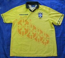 BRAZIL WORLD CUP 1994 home shirt jersey UMBRO 1993-1997 Canarinhos adult SIZE XL