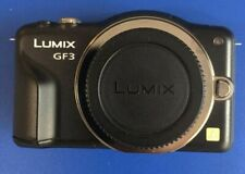 Panasonic DMC-GF3 (Body Only) EXCELLENT +++ Free Memory Card and Cards Case.
