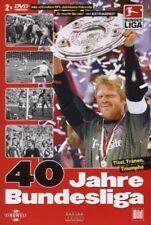 40 Jahre Bundesliga - Titel, Tränen, Triumphe (2 DVDs)