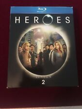 Heroes - Season 2 (Blu-ray Disc, 2008, 4-Disc Set)
