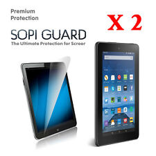 2 Pack Ultra Clear Screen Protector for Kindle Fire 7 inch (2017)