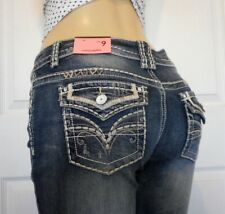 New Almost Famous Juniors Low Rise Bootcut Jeans Size 9