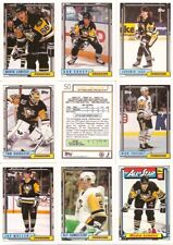 1992-93 Topps Pittsburgh Penguins Complete Team Set (26)