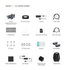 DJI Mavic Pro Fly More Combo 4K Camera Drone