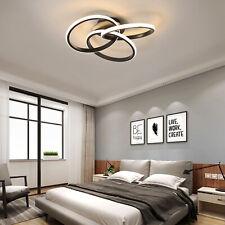 Modern 3-Rings Led Light Ceiling Fixtures Flush Mount Chandeliers Lamps Lighting