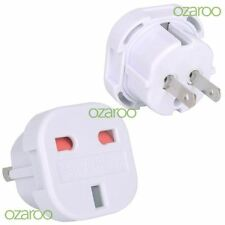UK / EU to Australia AU/ NZ/ USA America Travel Plug Adaptor with Safety Shutter