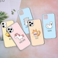 Cute Unicorn Cat Soft Case For iPhone 7 6 6S 8 Plus XR 11 XS Max 11 Pro Max