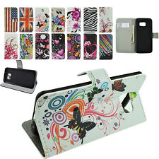 Premium Wallet PU Leather Phone Cover Case for Samsung Galaxy S7 S6 S3 A5 Phones