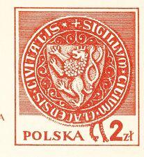 POLAND 1981 **MNH Postcards Cp#783 I 1000 y. of Kłodzko