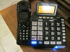 CLEAR SOUNDS LARGE BUTTON AMPLIFIED CORDLESS PHONE A1600BT - BlueTooth