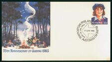 MayfairStamps Australia FDC 1985 Boy Guides Anniversary First Day Cover wwr5623