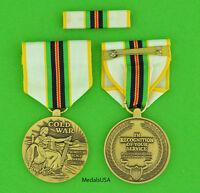 COLD WAR VICTORY MEDAL & RIBBON  BAR for all U.S. Veterans serving 1946-1991