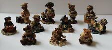 New ListingBoyds Bears & Friends Bearstone Figurines Lot of 11 Years 1993-1999