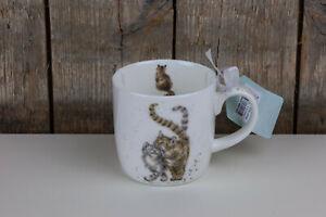 Wrendale Designs - Tasse / Becher - Feline Good - Katzen - 250 ml - Hannah Dale