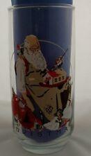Coca Cola Santa Glass ~ Norman Rockwell 1922