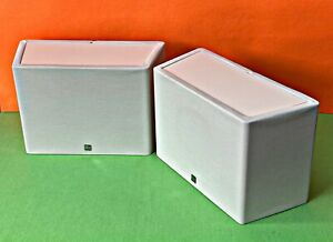 KEF 65DS Home Cinema Rear Dipole Surround Sound Speakers In White!