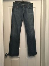 CITIZENS OF HUMANITY A84 Blue Kelly Low Waist Boot Cut Jeans Size 28 (30x32)