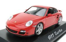 MINICHAMPS - PORSCHE 911 Turbo - rot - 1:43 in OVP /Box - WAP02013116