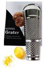Nutmeg Lemon Grater Metal Gadget Kitchen Cheese Orange Lime Zester Chocolate