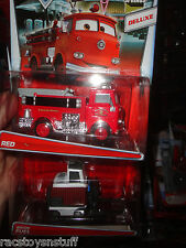 CARS DELUXE SERIES VEHICLES BRIAN FUEL AND RED, NEVER OPENED.