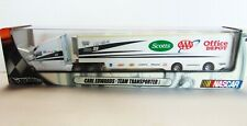 Hot Wheels CARL EDWARDS - Team Transporters - Trailer Rig Semi - 1:64 - #99 -New