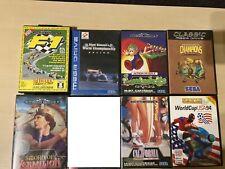 Sega Mega Drive Spielesammlung # 7 Spiele # Sword of Vermillion etc.