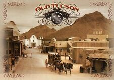 Old Tucson built for 1939 Movie Arizona, Hollywood Film Town --- Modern Postcard