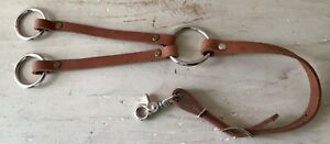 Harness Leather Training Fork - Western or English - Lots of Adjustments